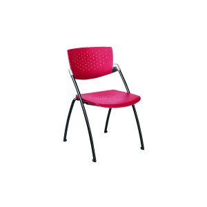 Multifunctionele stoel Filigra rood